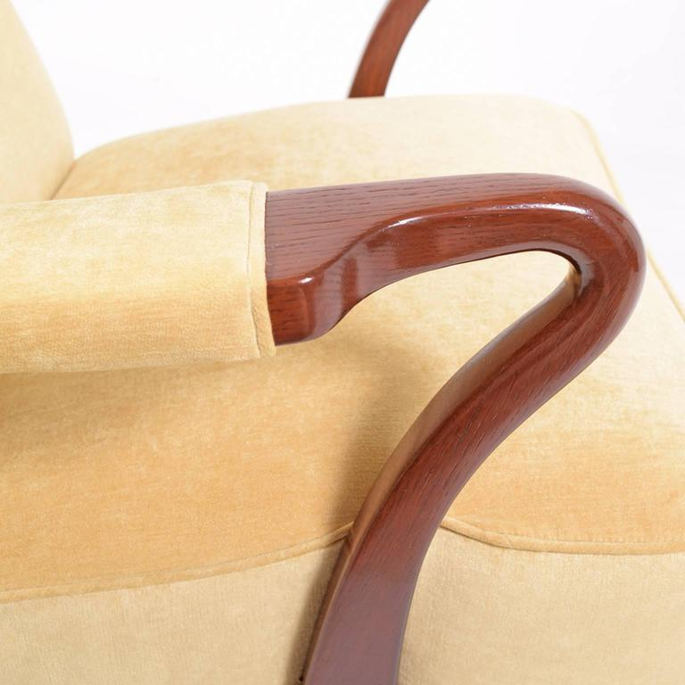 Mid-20th Century Rare 1938 Large Easy Chair by Bertil Söderberg For Sale