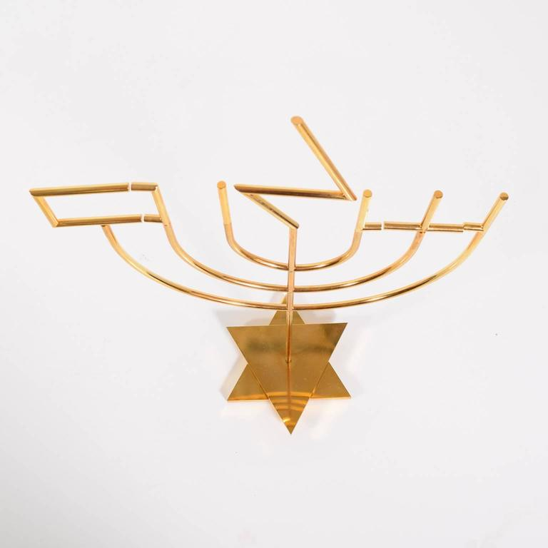 Sculpture by Yaacov Agam 'Peace Candelabra' Edition of 180 3