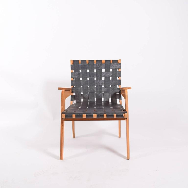 American 1940s Klaus Grabe Plywood Armchair For Sale