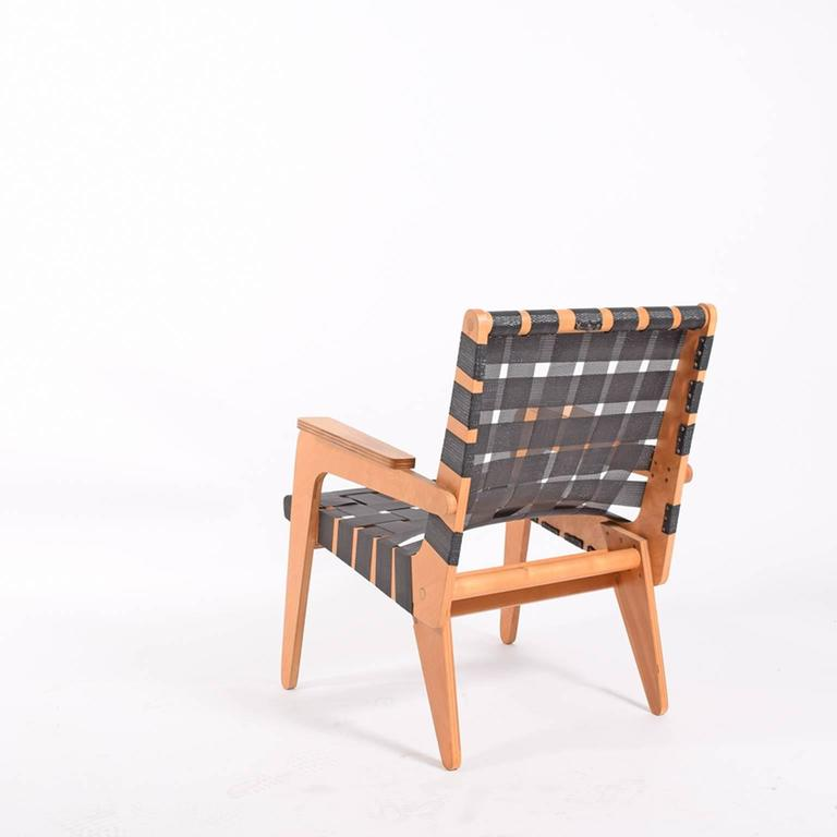 Modern 1940s Klaus Grabe Plywood Armchair For Sale