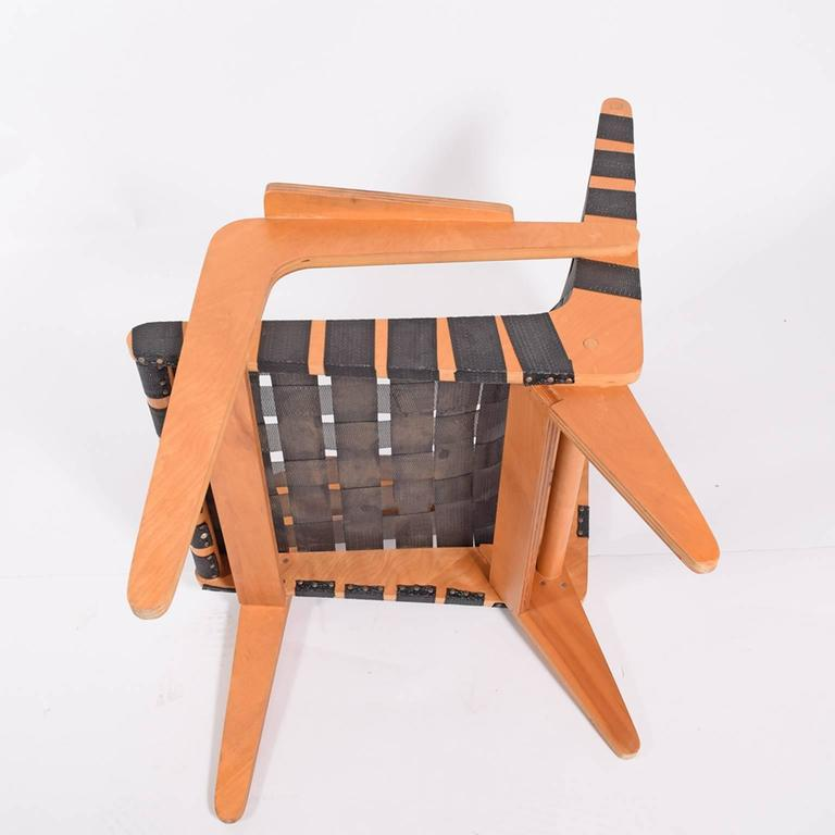 1940s Klaus Grabe Plywood Armchair For Sale 1