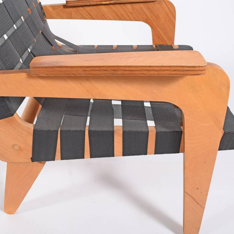 Mid-20th Century 1940s Klaus Grabe Plywood Armchair For Sale