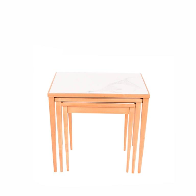 Nesting Tables Made in Belgium by S.A. Novak 3