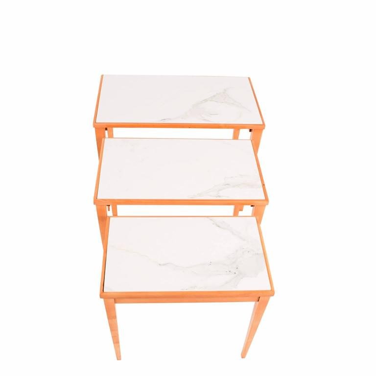 Nesting Tables Made in Belgium by S.A. Novak 5