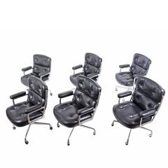 Six Time Life Chairs by Charles Eames for Herman Miller