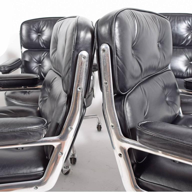 Six Time Life Chairs by Charles Eames for Herman Miller 5