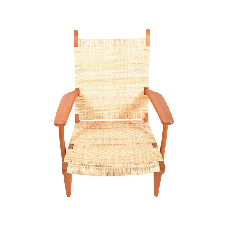 Hans Wegner CH27 Lounge Chair for Carl Hansen 4