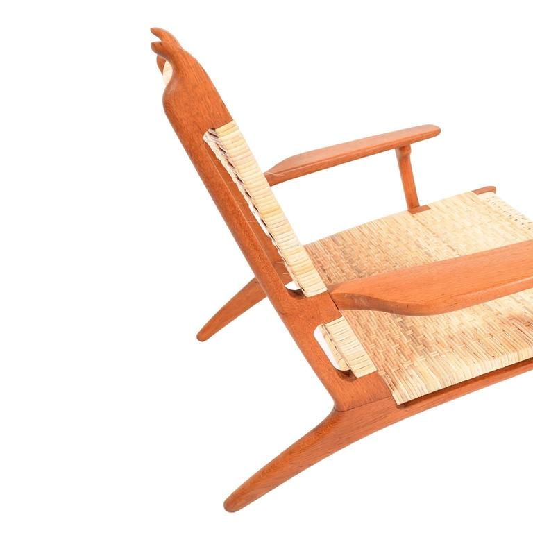 Hans Wegner CH27 Lounge Chair for Carl Hansen 6