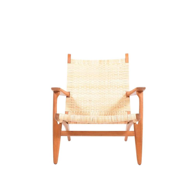 Hans Wegner CH27 Lounge Chair for Carl Hansen 2