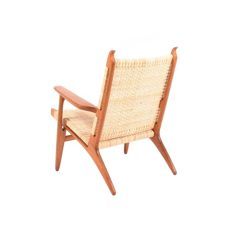 Hans Wegner CH27 Lounge Chair for Carl Hansen 3