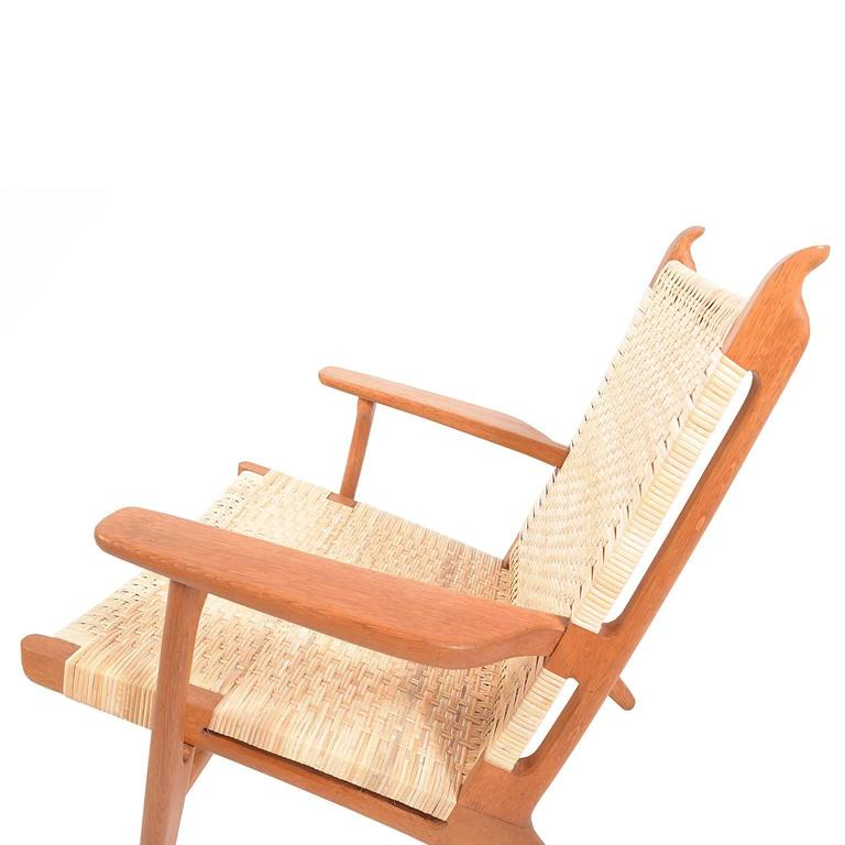 Hans Wegner CH27 Lounge Chair for Carl Hansen 5