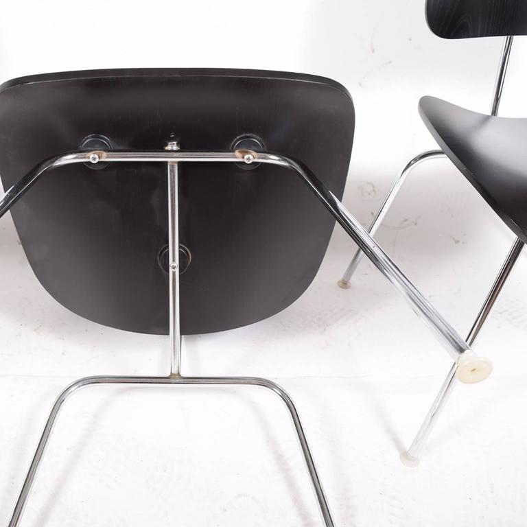 Mid-20th Century Six DCM Charles Eames for Herman Miller For Sale