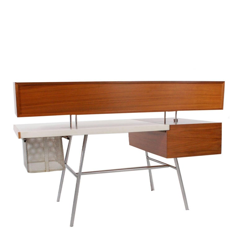 Executive Home Desk by George Nelson for Herman Miller In Good Condition For Sale In Dallas, TX