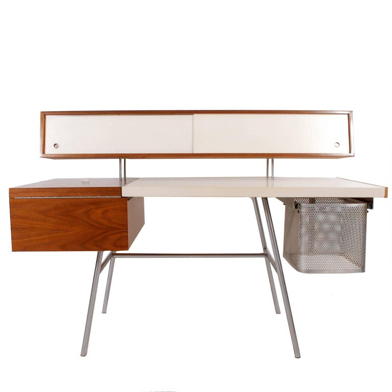 Modern Executive Home Desk by George Nelson for Herman Miller For Sale