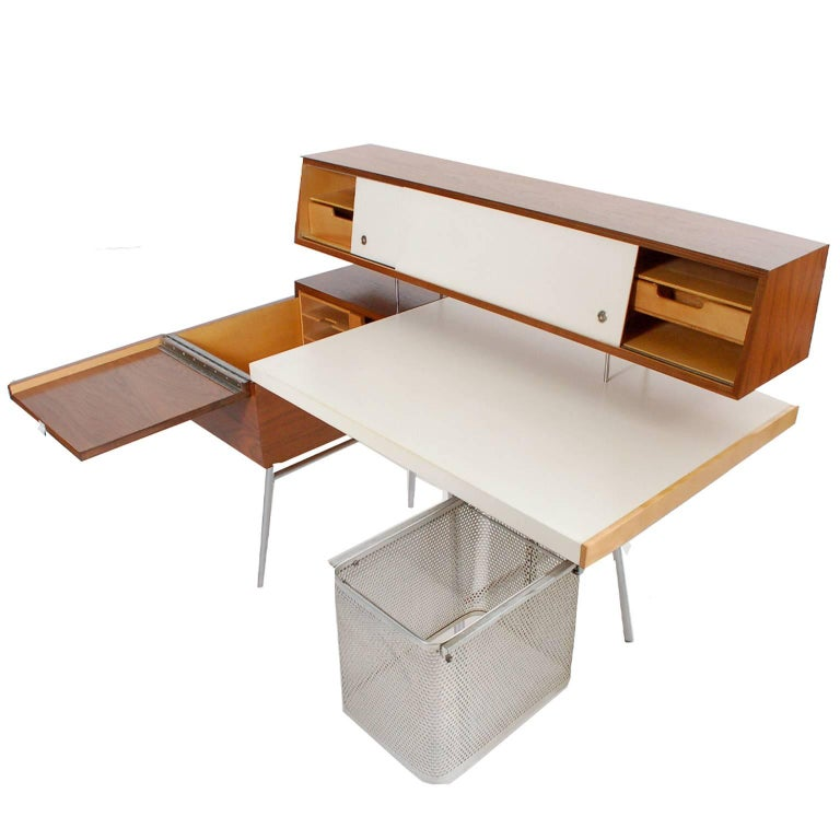 Mid-20th Century Executive Home Desk by George Nelson for Herman Miller For Sale