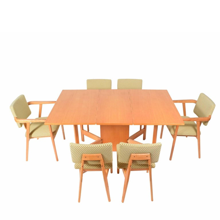 Dining set by george nelson for herman miller at stdibs