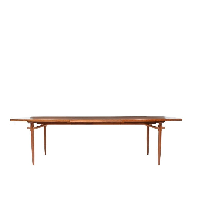 Organic Modern Dining Table # 202-W by George Nakashima for Widdicomb For Sale