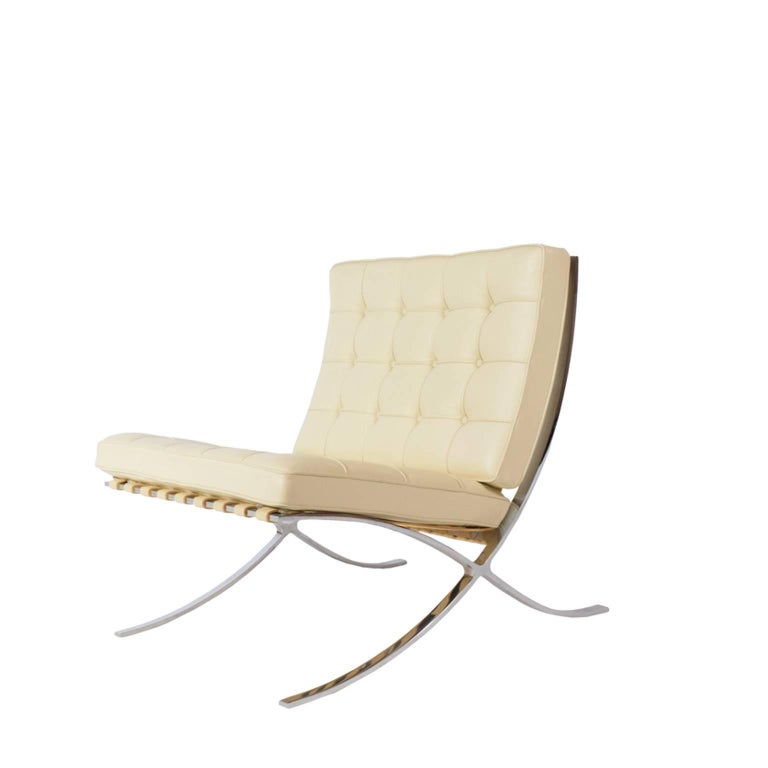 Barcelona chair by mies van der rohe for knoll inc for sale at 1stdibs - Knoll inc chairs ...