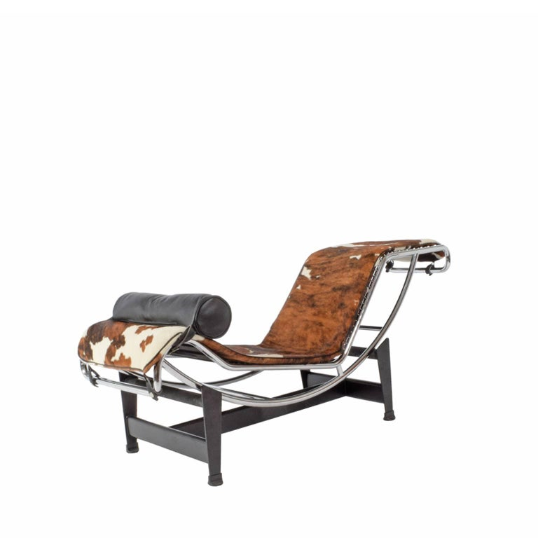 Lc4 chaise longue designed by le corbusier perriand for Chaise lounge corbusier