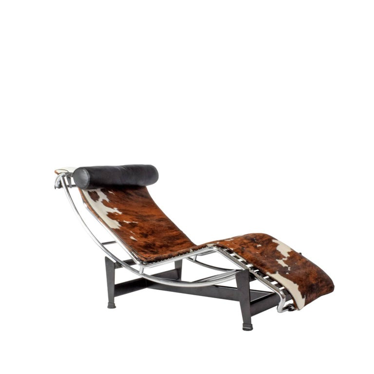 Lc4 chaise longue designed by le corbusier perriand for Chaise longue le corbusier vache