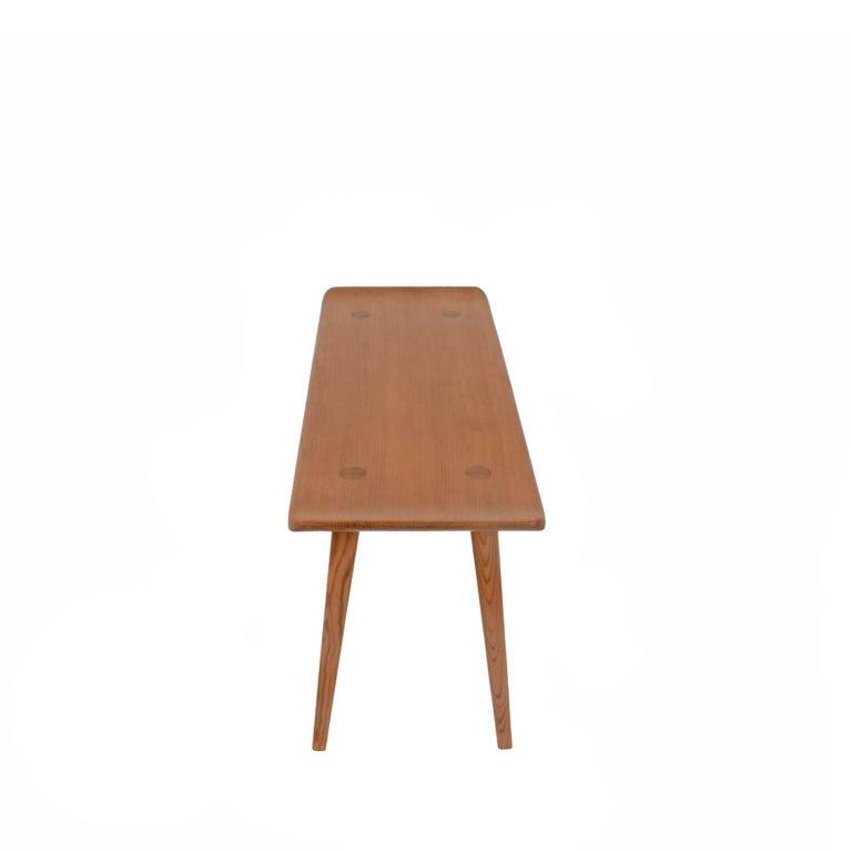 "Scandinavian Modern ""Visingsö"" Pine Bench by Carl Malmsten For Sale"
