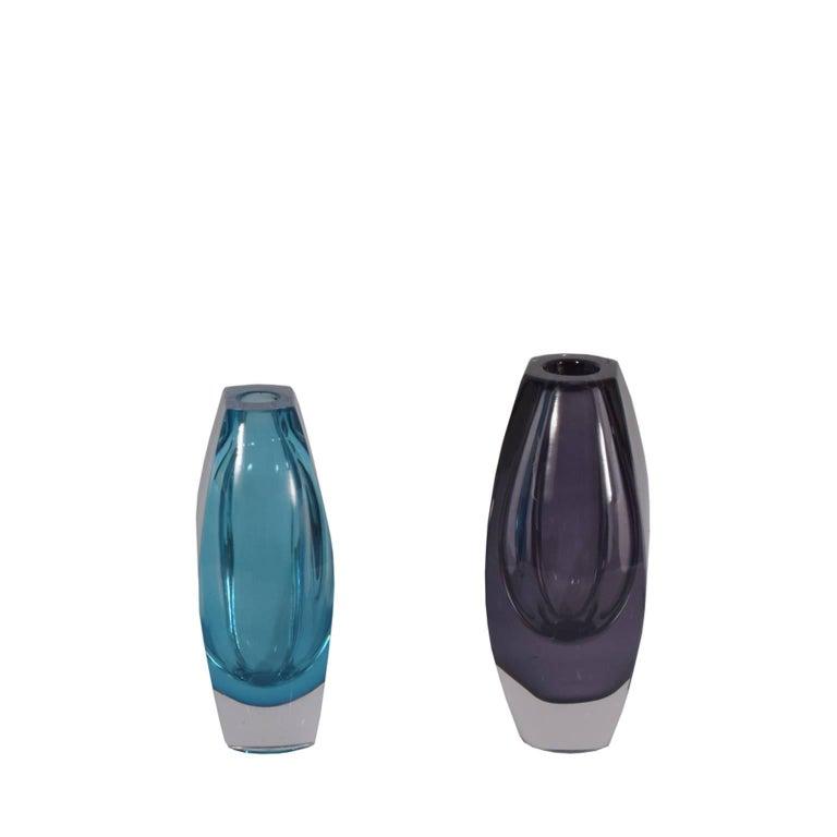 """Mona Morales-Schildt """"Ventana"""" Vases for Kosta 2"""