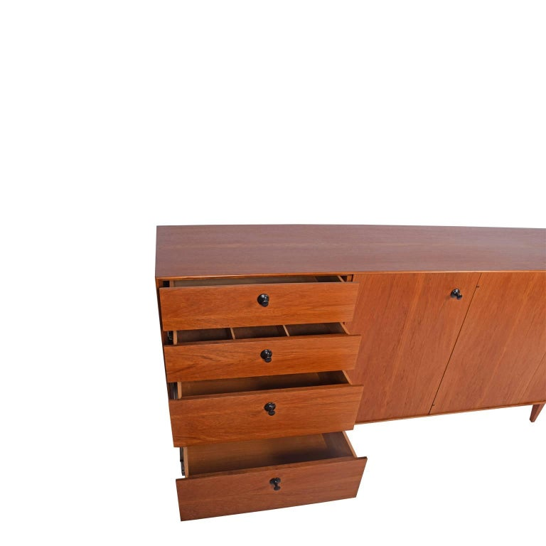 Mid-20th Century Teak Thin Edge Cabinet by George Nelson and Associates for Herman Miller For Sale