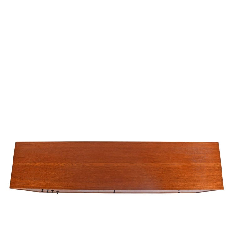 Teak Thin Edge Cabinet by George Nelson and Associates for Herman Miller For Sale 1