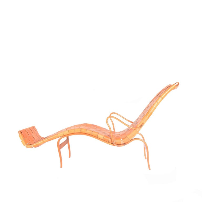 'Pernilla 3' Lounge Chair by Bruno Mathsson for Karl Mathsson For Sale