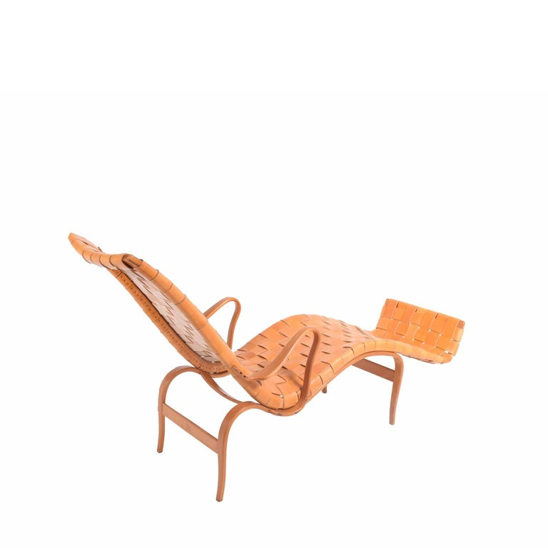 Laminated 'Pernilla 3' Lounge Chair by Bruno Mathsson for Karl Mathsson For Sale