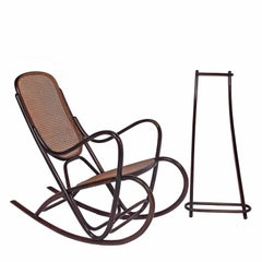 1920s Bentwood Italian Rocker Attributed Antonio Volpe