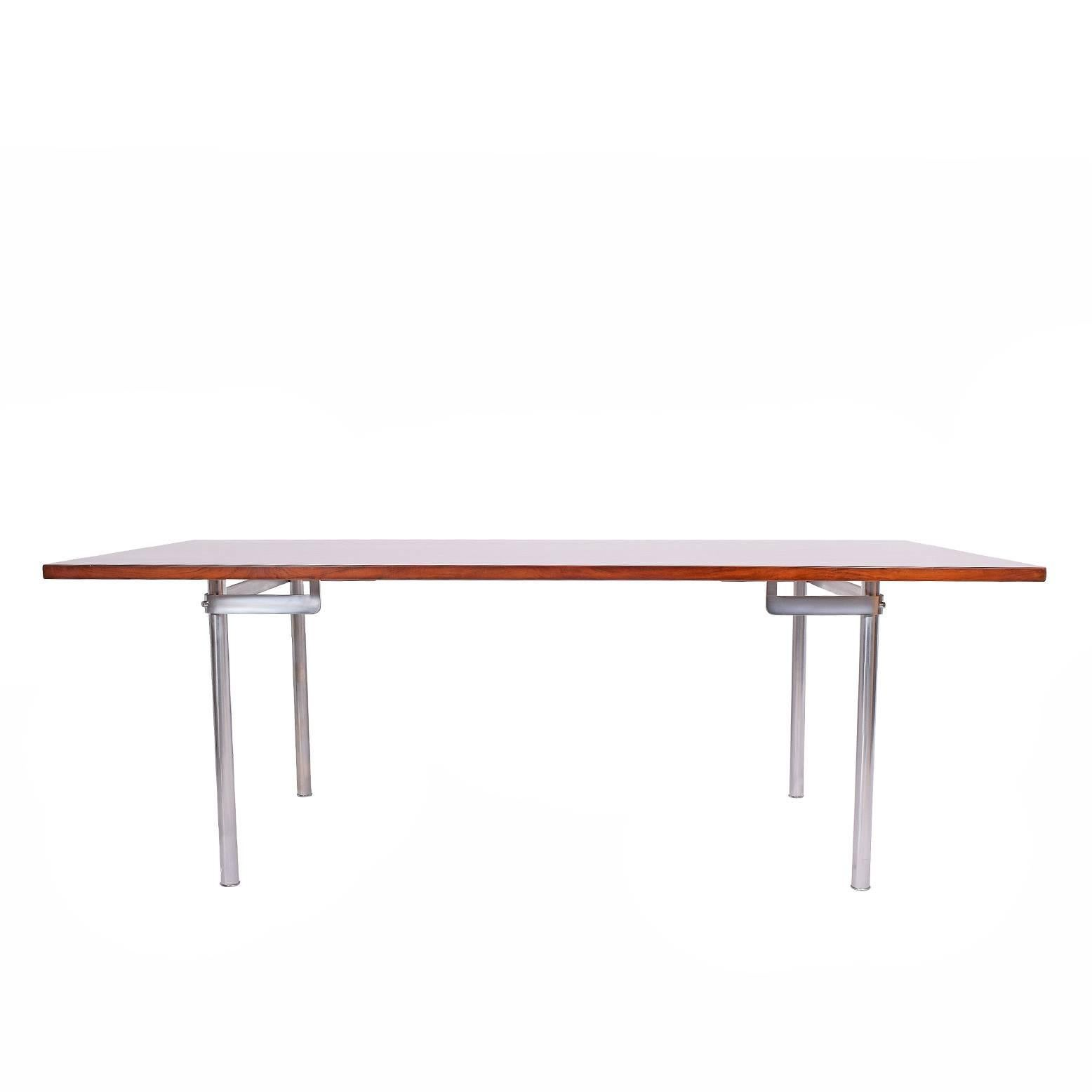 Working Dining Rosewood Table by Hans Wegner #AT-318 for Andreas Tuck