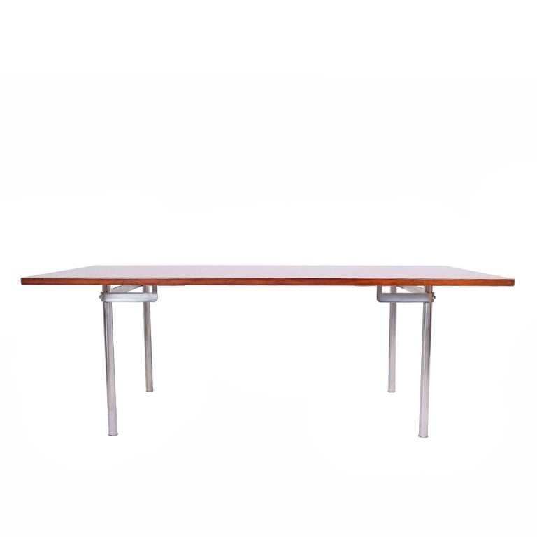 Working Dining Rosewood Table by Hans Wegner #AT-318 for Andreas Tuck For Sale