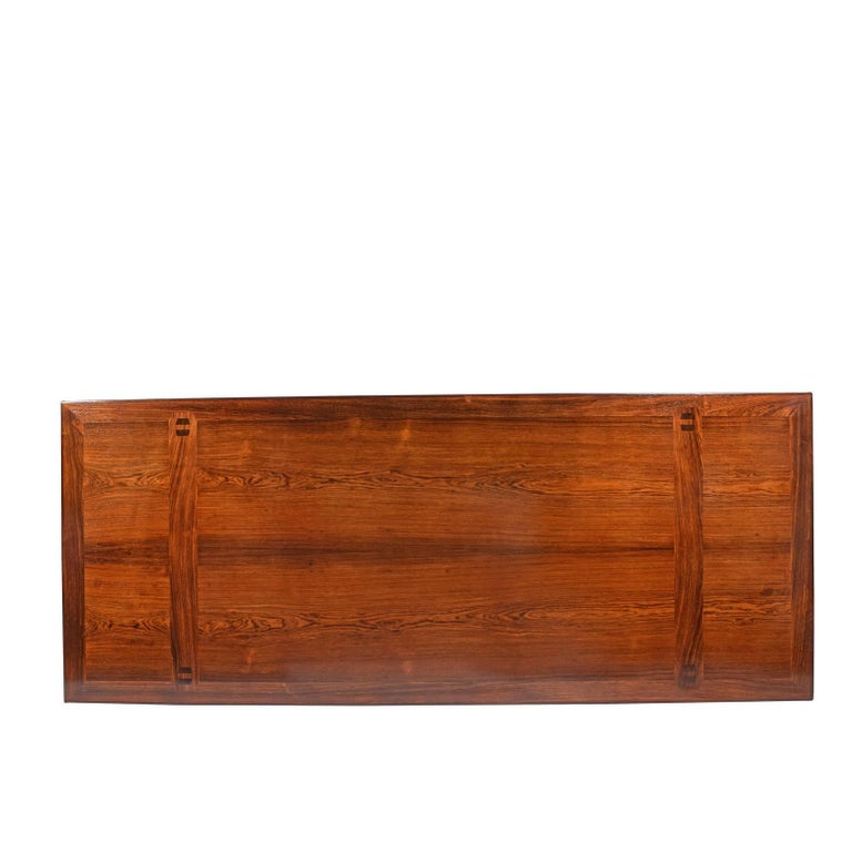 Rosewood Desk by Peter Hvidt and Orla Mølgaard Nielsen for Pontoppidan For Sale 3