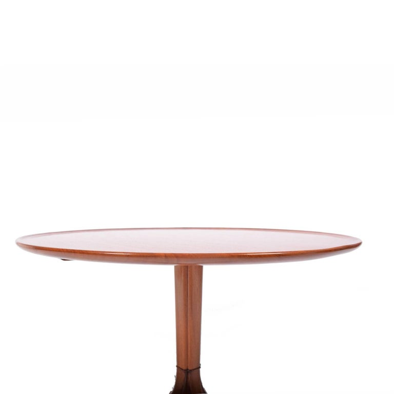 Scandinavian Modern Frits Henningsen 1940s Mahogany Occasional Table For Sale