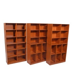 Mogens Koch Nine Open Bookcases for Rud Rasmussen