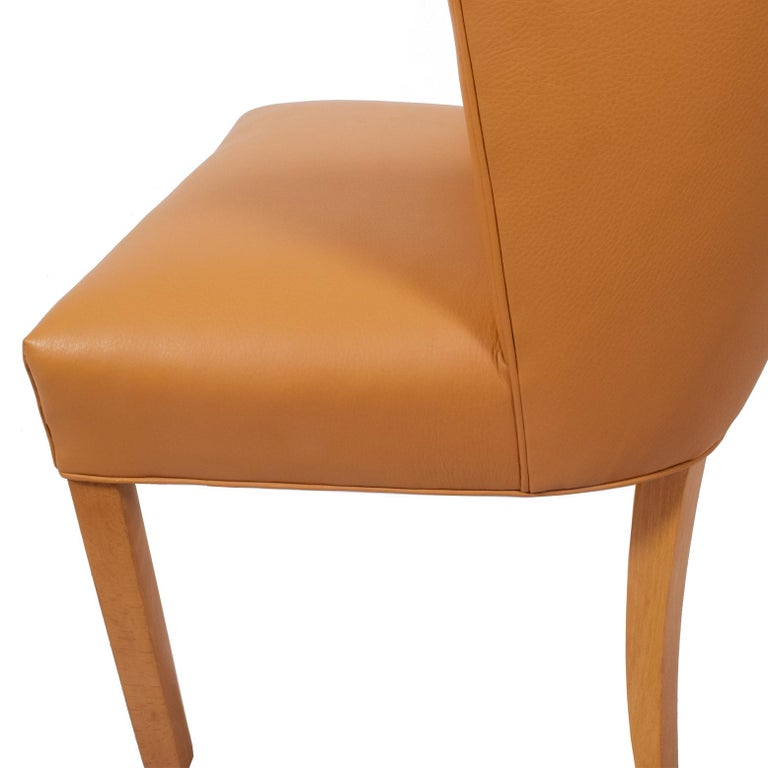 Leather Fritz Hansen Armchair, 1941 For Sale