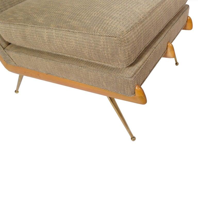American Easy Chair, Robinson-Johnson Inc., 1956 Style of Robsjohn Gibbings  For Sale 1