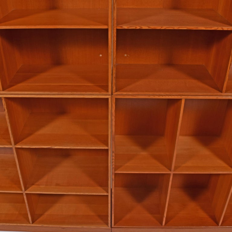 Danish Mogens Koch Six Open Bookcases for Rud Rasmussen For Sale