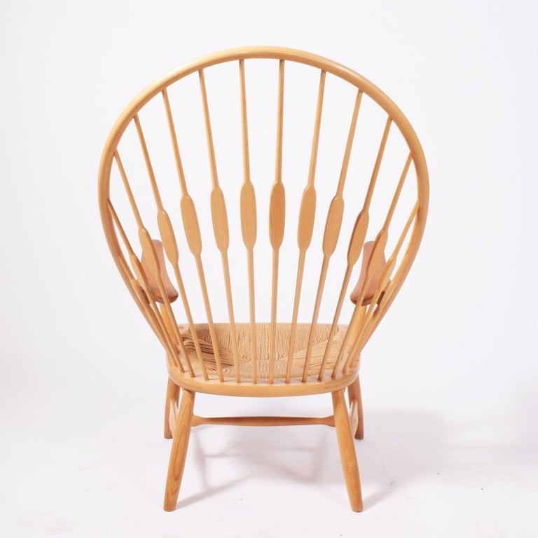 Peacock Chair by Hans Wegner for Johannes Hansen In Good Condition For Sale In Dallas, TX