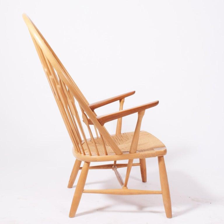 Danish Peacock Chair by Hans Wegner for Johannes Hansen For Sale