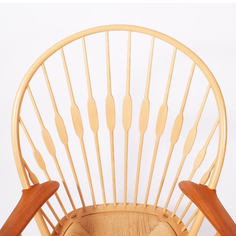 Bentwood Peacock Chair by Hans Wegner for Johannes Hansen For Sale