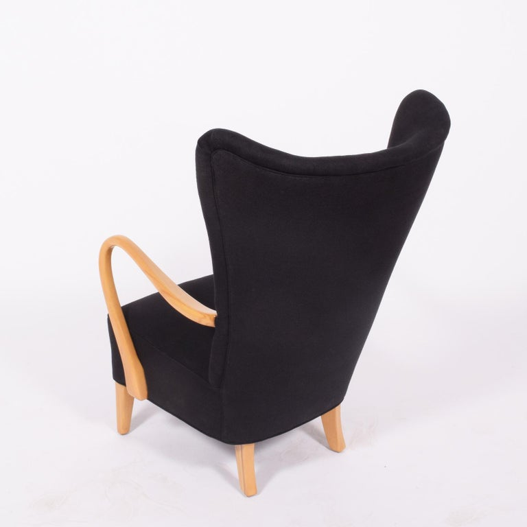 Scandinavian Modern 1940s Easy Chair by Elias Svedberg For Sale