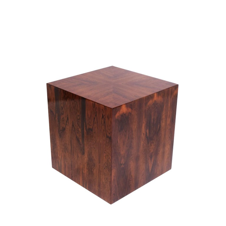 Modern American 1960s Rosewood Bar Cabinet For Sale