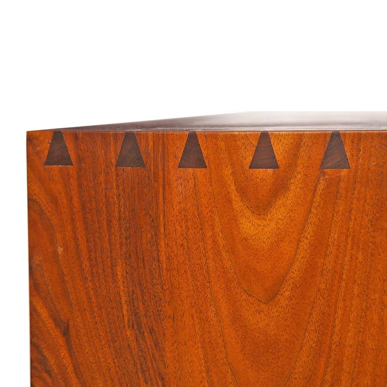 George Nakashima Chest of Drawer in Walnut Nakashima Studio For Sale 2