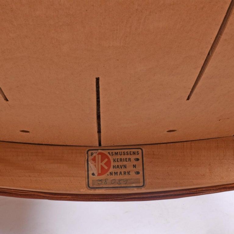 Set of 12 Kaare Klint Red Armchairs for Rud Rasmussen For Sale 1