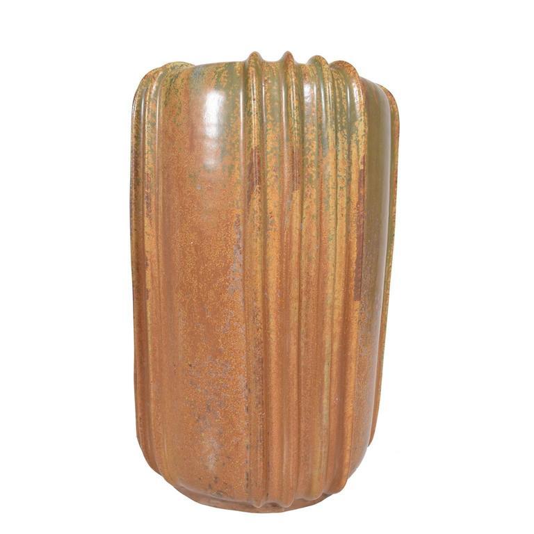Scandinavian Modern Large Arne Bang Stoneware Vase, 1940s For Sale