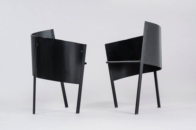 paolo pallucco pair of occasional chairs 3