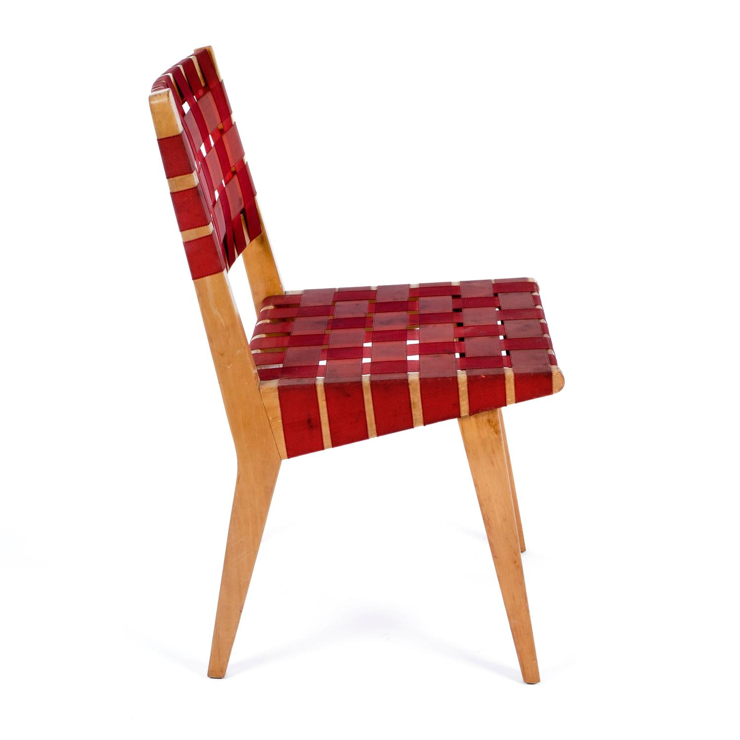 Early jens risom side chair for knoll for sale at 1stdibs - Jens risom side chair ...