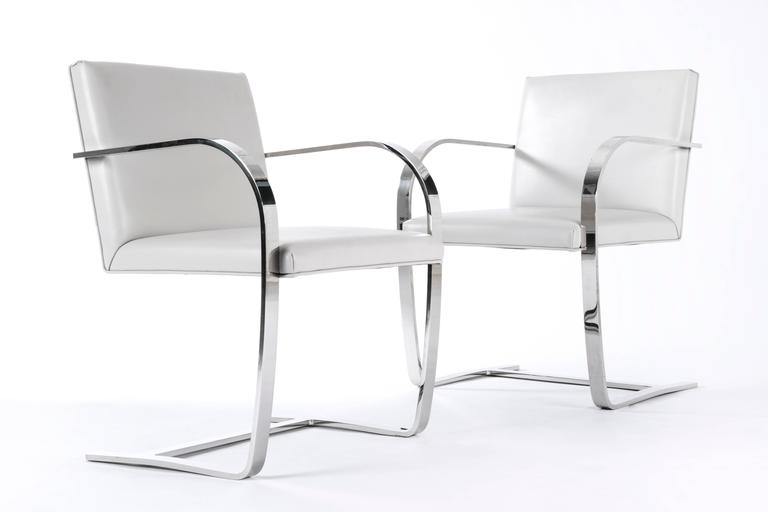Ludwig Mies van der Rohe Brno Chair for Knoll. 